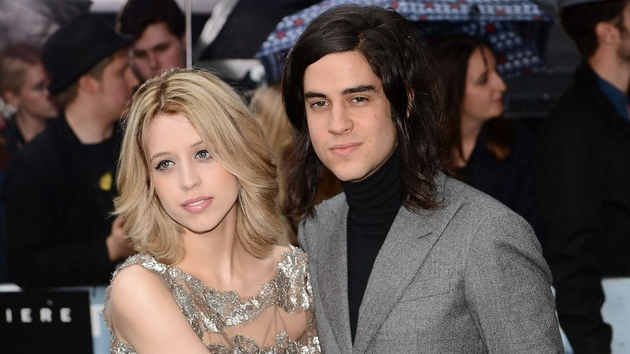 Peaches Geldof and husband Tom Cohen