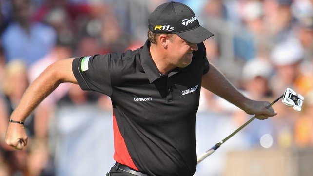An injured back may see Peter Hanson miss the Open