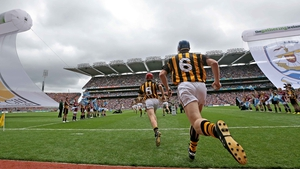 Kilkenny take to the field for the senior final