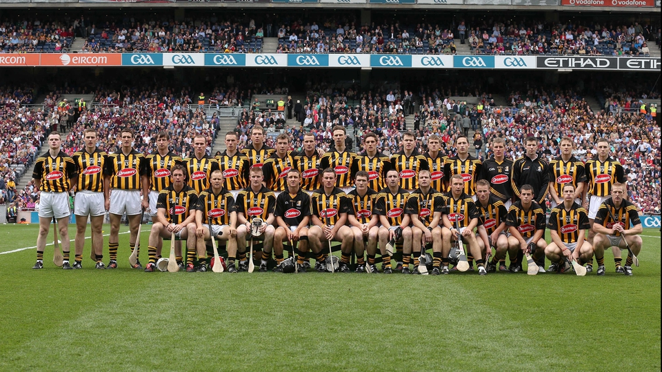 The Kilkenny side pose for their team photo