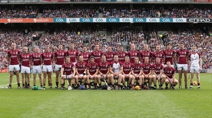 Galway pose for their team photo