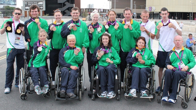 The Irish team won a total of 16 medals (Pic: Micheal Mac Suibhne)