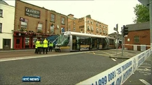 Luas services disrupted after crash