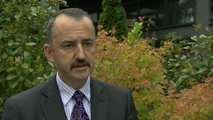 Brendan McGinty said the pensions bill for public servants was not sustainable