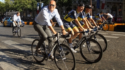 "Bjarne Riis: ""It makes no sense for Alberto Contador to promote their race if we are not getting anything back from it."""