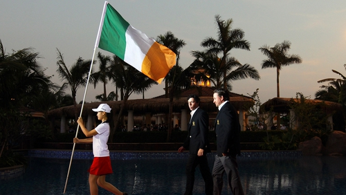 Graeme McDowell and Rory McIlroy played together for Ireland at the last World Cup