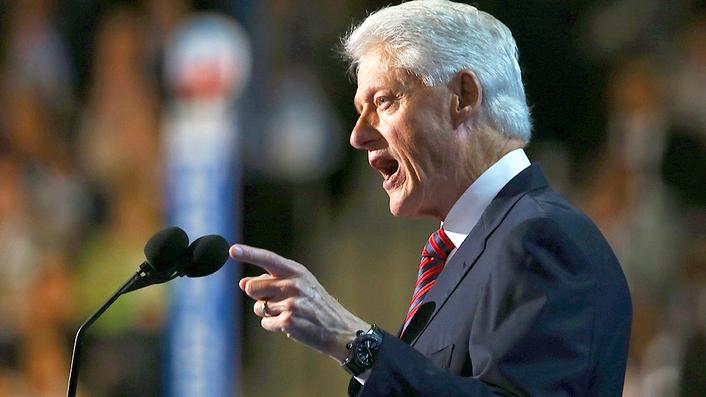 Fergal Keane - Clinton and Biden in the Rust Belt