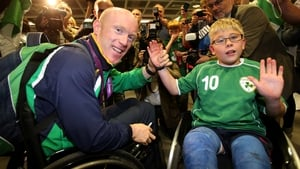 Mark Rohan with with Shane Barker.