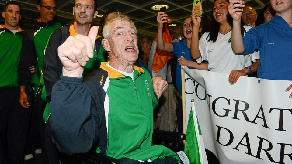 Boccia player Tom Leahy, from Ballyhooly, Co. Cork.