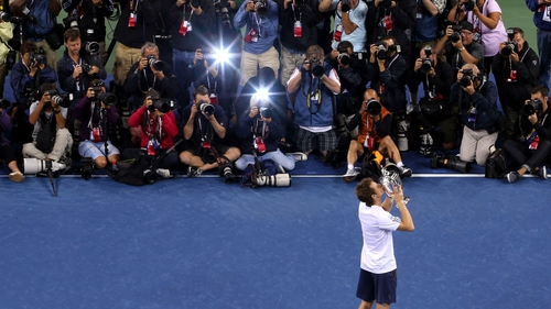 Andy Murray had a season to remember in 2012 as he won his first major and Olympic gold