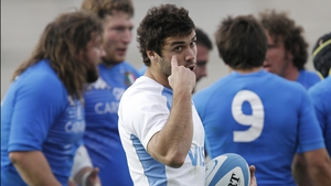 Martin Landajo has been brought in at scrum-half for Argentina