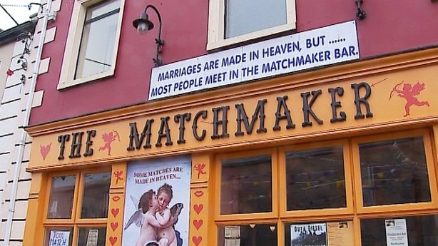 The Matchmaker pub in Lisdoonvarna, Co Clare.
