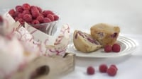 Vegan raspberry muffins - Without animal products but with all the flavour, you will feel angelic after eating these!