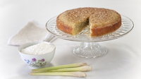 Lemongrass coconut cake - A quirky combination from the latest Rachel Allen series