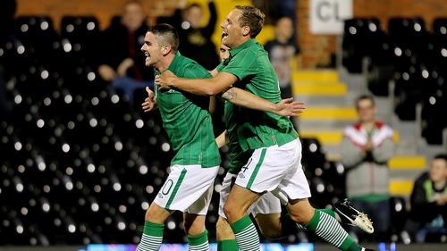 Robbie Brady enjoyed a dream debut for the Republic of Ireland at Craven Cottage
