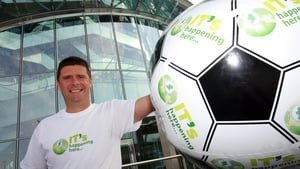 Niall Quinn launched the new website which aims to fill 1500 IT vacancies