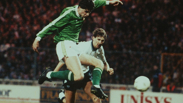 Niall Quinn scored the equaliser the last time the Boys in Green visited Wembley, in 1991