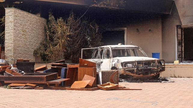 Four US embassy staff were killed in Tuesday's attack in Benghazi