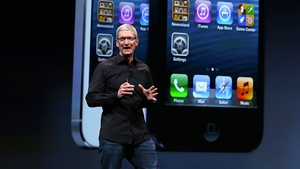 Apple's iPhone 5 makes its debut