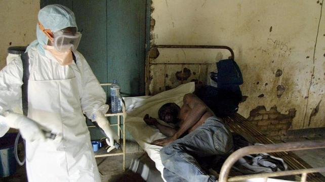 An Ebola virus outbreak in Congo in 2003