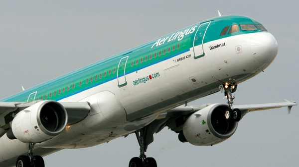 Aer Lingus is axing 87 jobs in a row over new transatlantic routes