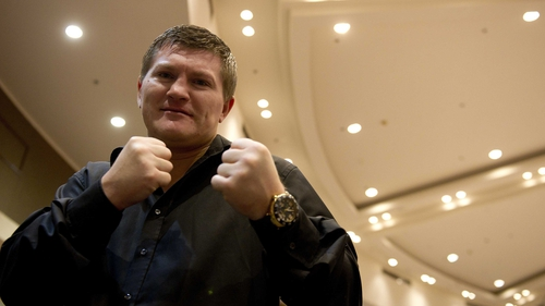 Ricky Hatton is set to make a return to the ring