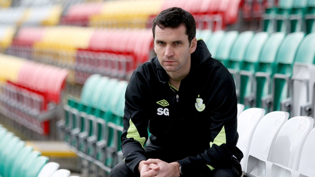 Stephen Glass is in temporary charge of Shamrock Rovers