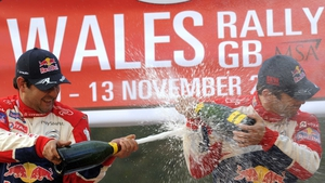 Sebastien Loeb secured his eighth WRC title in Cardiff last year