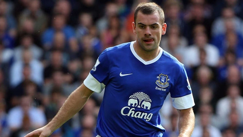Darron Gibson was harshly send off against West Ham