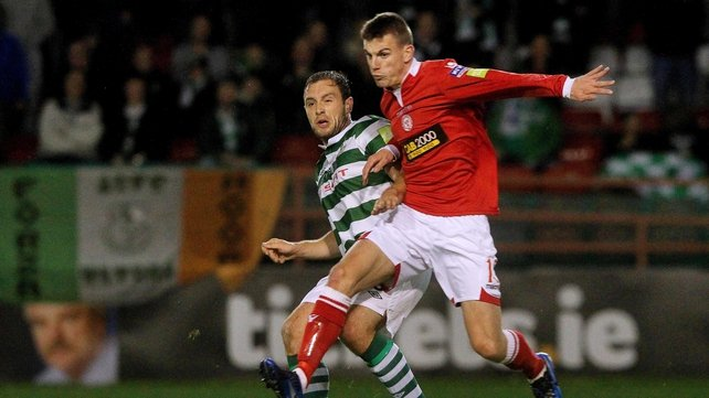 Shelbourne knocked out Shamrock Rovers in Tolka Park