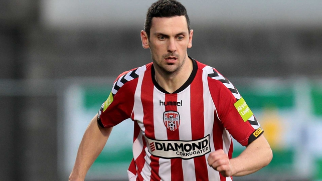 Hat-trick hero Mark Farren usurped Liam Coyle as Derry City's record goalscorer at the Brandywell