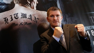 Ricky Hatton announced his comeback on Friday
