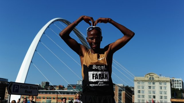 Mo Farah to take break after Gateshead victory