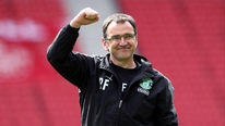 Hibernian manager Pat Fenlon on their win over Dundee