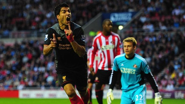 Luis Suarez earned a point for Liverpool
