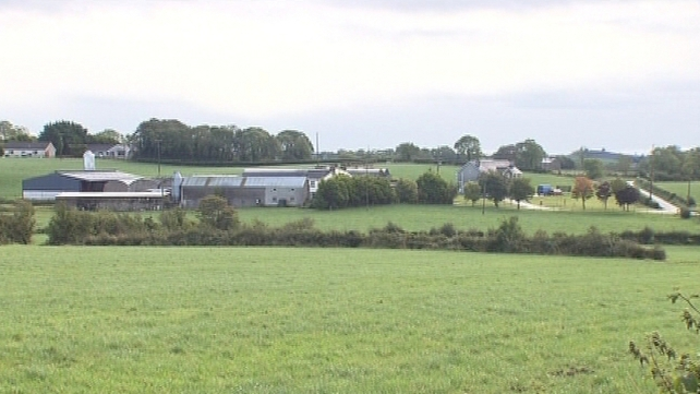 Emergency services were called to the farm shortly after 6pm yesterday