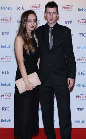 MichaelMcKillop with girlfriend Laura McBerrey