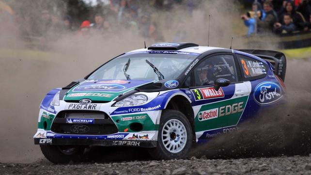 Jari-Matti Latvala has won his second rally of the season