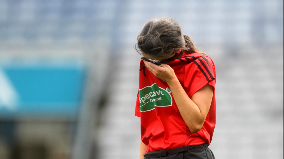 Leaving Down's Emma McCormick to lament their second defeat at this stage in as many years
