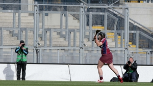 But Galway's Rachel Monaghan  equalised with a late point