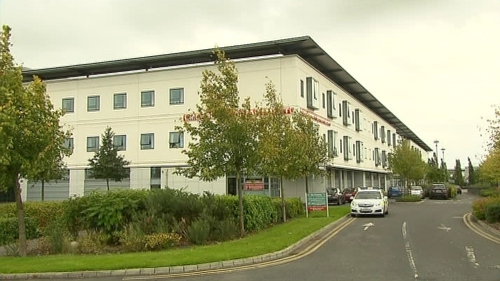 A woman was taken to the Midland Regional Hospital Tullamore