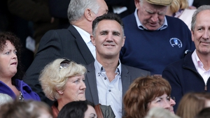 Irish Olympic team boxing coach Billy Walsh enjoys the 3-13 to 3-06 victory of his native Wexford over Cork