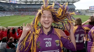 Wexford fan Laura Kelly was anticipating a favourable result