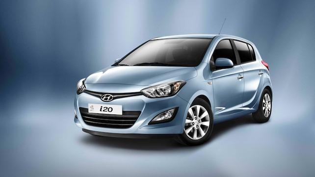 Face-Lifted Hyundai i20