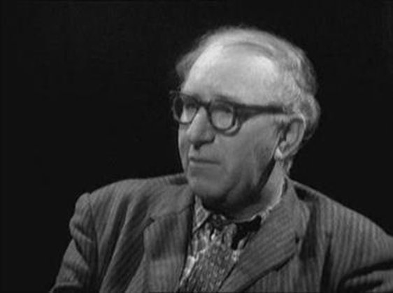Patrick Kavanagh pictured on the programme 'Self Portrait' on 30 October 1962.