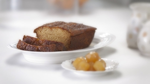 Sweet, spongy and sticky. The perfect tea time treat!