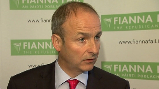 Micheál Martin said hospitals were being pushed to the edge of viability