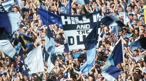 It was to be a disappointing day for the Dublin fans on Hill 16