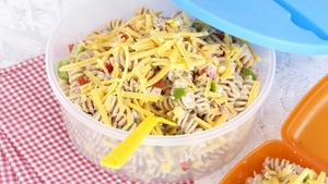 Cheesey Tuna and Sweetcorn Pasta Salad