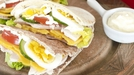 Cob Salad Pitta Pockets - Delightful lunch time option made with Dubliner Cheese.